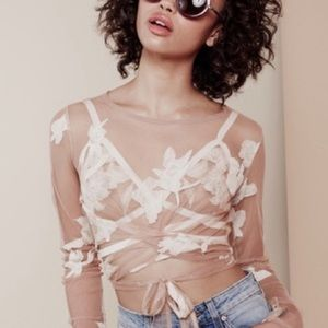 For love and lemons Orchid crop size S/M